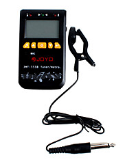 Joyo JMT-555b 3v1 univerzální metro-tuner pro chromatický / kytara / basa / housle / ukulele