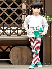 módní dívky žába vzor svetr