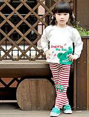 modni djevojke žaba obrazac pulover