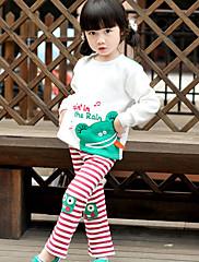 bavlněné dětské proužek Malá žába kalhoty