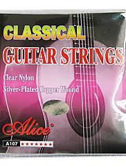 alice - (A107-n) nylonové klasickou kytaru struny (028-043)