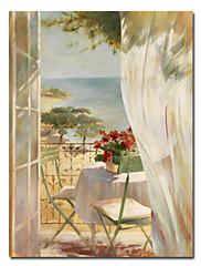 伸張フレーム付プリント風景キャンバスの芸術