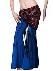 女性より多くの色のためのダンスウェアポリエステルベリーダンスのパフォーマンスのベルト
