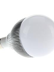 E27 12W 1080-1100LM 6000-6500KナチュラルホワイトLEDライトボールバルブ(85-265V)