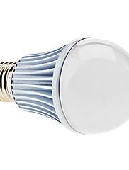 E27 5w 400-450lm 3000-3500K teplá bílá světla klasu led míč žárovka (85-265V)