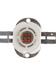 DIYの10W 300-400LMイエローライト583-586NMラウンド内蔵LEDエミッタ