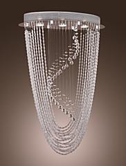 竪琴状のデザイン - 3灯とsl®現代クリスタルのシャンデリア