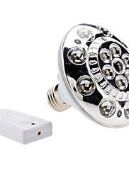 調光対応E27 1Wコールドホワイトライトリモートコントロール充電式LEDスポット電球(220V)