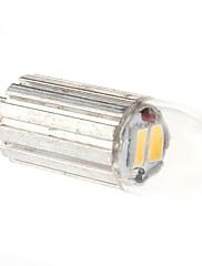 G4は2W 2x5630 150-180LM 3000-3500KウォームホワイトライトLEDスポット電球(12V)