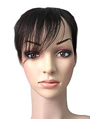 mono top 100% indické Remy vlasy 5,5 palce nahoru ks