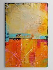 Ručně malované Abstraktní Vertikálně,Tradiční Klasický Jeden panel Hang-malované olejomalba For Home dekorace