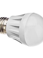 E27 3,5 w 30x3014smd 280lm teplé bílé světlo LED žárovka kulového (220V)