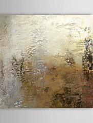 Ručně malované AbstraktníTradiční Pastýřský Jeden panel Plátno Hang-malované olejomalba For Home dekorace