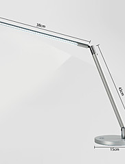 省エネデスクライト48個のLED 3W目の保護ライト方向調整