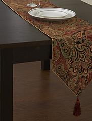 Retro styl Multi-color Floral bavlna Tabulka Runner