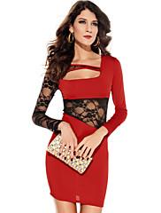 Red Body-lichotivé šaty (Bust :86-102cm Pas :58-79cm Hip :90-104 cm Délka: 78 cm)