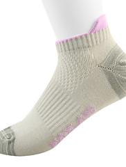 MAXLAND světle šedá Ponožky froté tkanina kotníku pro ženy (Dva páry)