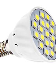3W E14 LED bodovky MR16 21 SMD 5050 240 lm Přirozená bílá AC 110-130 / AC 220-240 V