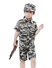 兵士迷彩服キッズコスチューム(3-4歳)