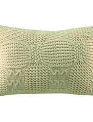 """20 """"長方形モダン織り柄アクリル装飾的な枕カバー"""