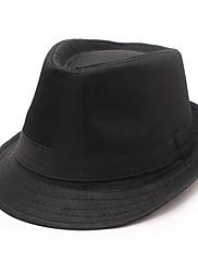 英国ブラックポリエステル綿フェルト帽ハット