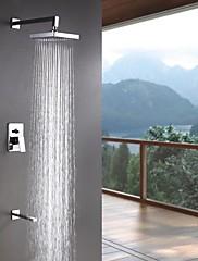 Sprchové baterie Sprinkle®  ,  Moderní  with  Pochromovaný Jeden kohoutek Se třemi otvory  ,  vlastnost  for Nástěnná montáž