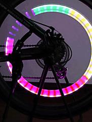Barevné LED Light Tire kola ventil vnitřní osvětlení pro jízdní kola / motor / vozidlo