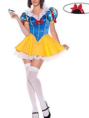 Sněhurka modré a žluté Dámské Halloween kostým