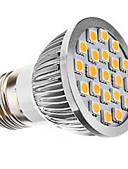 3W E26/E27 LED bodovky MR16 21 SMD 5050 240 lm Teplá bílá AC 110-130 / AC 220-240 V