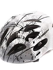 MOONサイクリングPC +は21ベントウルトラライトホワイト自転車/バイクヘルメットをEPS