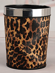 ファッションステンレススチールリムLeopardはビンを印刷