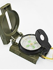 Military Marching Duty Camping Compass with Scale - Army Green