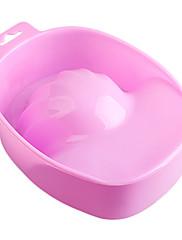 1KS NOVÁ Style Pink Nail Art Hand Wash Odstranit Namočte Bowl Manikúra nástroje