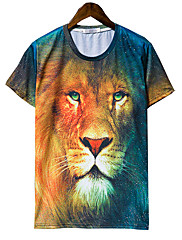 Jogal 3D Animal Print Série T Shirt (barevná T258 Screen)