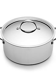 bodeux® série žádný povlak s vysokým polévka hrnec 24cm 304 nerez ocel průměr 26 cm * 18 cm