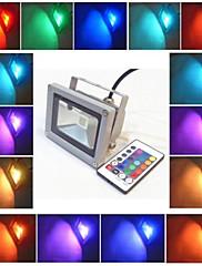 防水PSE CE IP65 10ワット電球色のRGB投光照明ac85-265を主導
