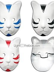 Maska Inspirovaný Naruto Cosplay Anime Cosplay Doplňky Maska Czarny / Czerwony / Niebieski PVC Pánský / Dámský