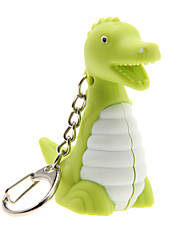 Key Chain Dinosaur Lijep / Moda Key Chain / LED osvijetljenje / Hangzás Duga Plastika