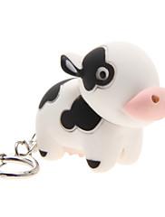 LED osvijetljenje / Key Chain Cow Crtići Key Chain / LED osvijetljenje / Hangzás Obala ABS