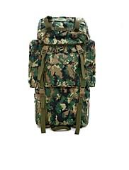 屋外の防水ナイロン袋鋼70リットルプロの登山バッグ大容量のバックパック