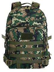 屋外の防水ナイロン袋鋼50リットルプロの登山バッグ大容量のバックパック