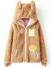 Iced ™ dámská mikina jehněčí kožešiny vesta (více barev)