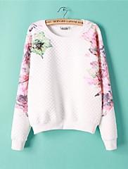ICED™ Women's Round Collar Print Sweatshirts