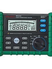 バックライト付きのロギングオーム100グループデータを4Kまでデジタルアース接地抵抗電圧テスターメーター0ohmをms2302 MASTECH
