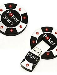 2ギガバイトクールポーカーチップのUSB 20メモリスティックフラッシュペンドライブ