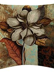 Vintage cvijet slikarstvo baršun dekorativne jastučnicu