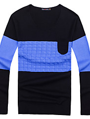 ifeymilan casuale colorsweater contrasto uomini