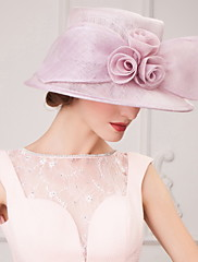 ちょう結びの結婚式/パーティー/ハネムーン帽子美しい亜麻