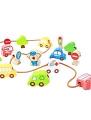benho prometnih perle drveni dječji obrazovni igračke