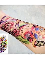 kotva projít vám srdce tetování samolepek dočasné tetování (1 ks)